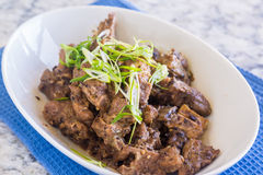 Steamed Spareribs Royalty Free Stock Image
