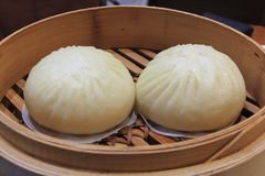 Steamed stuff bun Stock Image