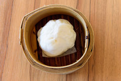 Steamed stuff bun Stock Photos