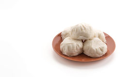Steamed stuff bun Royalty Free Stock Image