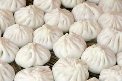 Steamed stuffed bun Stock Images