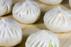 The steamed stuffed bun Royalty Free Stock Photography