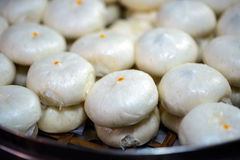 Steamed stuffed bun Royalty Free Stock Image