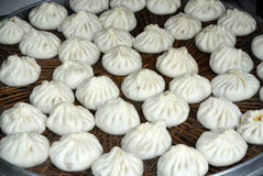 Steamed stuffed bun Royalty Free Stock Photography