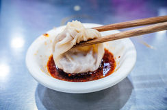 Steamed stuffed bun  (Xiao long bao) Royalty Free Stock Photo