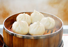 Steamed stuffed buns Royalty Free Stock Image