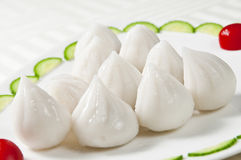 Steamed stuffed buns Stock Images