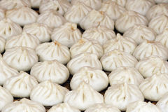 Steamed stuffed buns Royalty Free Stock Photo