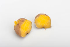 Steamed sweet potatoes Royalty Free Stock Images