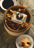 Steamed tofu Royalty Free Stock Photography