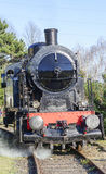 Steamed train locomotive Stock Photos
