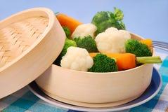 Steamed vegetables Stock Photo