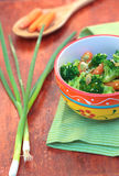Steamed vegetables Stock Images