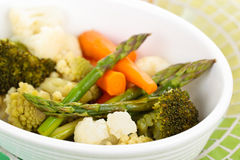 Steamed vegetables. Royalty Free Stock Photo