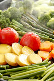 Steamed vegetables Royalty Free Stock Photos