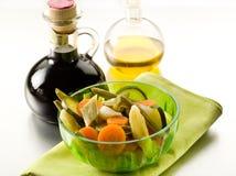 Steamed vegetables salad Stock Image