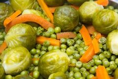 Steamed vegetables Stock Image