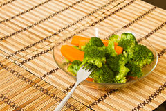 Steamed Veggies Royalty Free Stock Photos