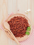 Steamed whole grain traditional thai rice best rice for healthy Stock Photo