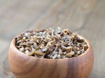 Steamed wild rice Royalty Free Stock Photo