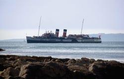 Steamer. Tourist steamer lulworth cove dorset Royalty Free Stock Photography