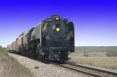 Steamer Engine  844 Train Royalty Free Stock Images