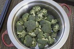 steamermagasin för 2 broccoli Royaltyfri Foto