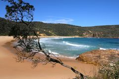 Steamers beach. Booderee National Park. Australia Royalty Free Stock Image