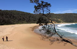 Steamers beach. Booderee National Park. Australia. Royalty Free Stock Photography
