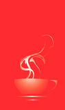 Steaming Coffee Cup Royalty Free Stock Photos