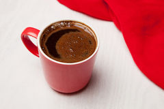 Steaming coffee cup Royalty Free Stock Photography
