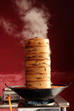 Steaming Cooker Royalty Free Stock Image