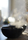 Steaming food Royalty Free Stock Image
