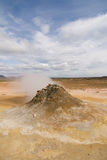 Steaming fumarole Royalty Free Stock Photography