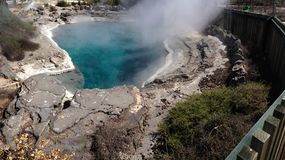 Steaming geyser Royalty Free Stock Photography