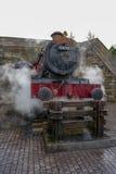 Steaming Hogwarts Express Royalty Free Stock Image