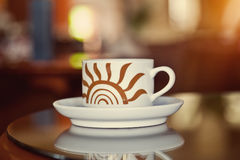 Steaming Hot Coffee Royalty Free Stock Photo