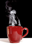 Steaming Hot Coffee Royalty Free Stock Photos