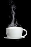 Steaming Hot Coffee Royalty Free Stock Image