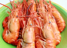 Steaming hot and fresh seafood. In Thailand Stock Photo