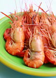 Steaming hot and fresh seafood. In Thailand Stock Image