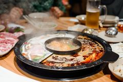 Steaming hot pot
