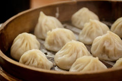 Steaming hot shanghai dumpling Stock Image