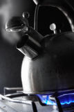 Steaming kettle Royalty Free Stock Photography