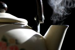 Steaming Kettle Royalty Free Stock Photos