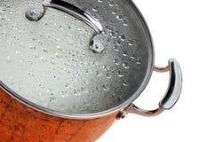 Steaming pot Royalty Free Stock Photos