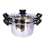 Steaming pot Royalty Free Stock Photos