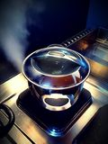 Steaming pot Royalty Free Stock Photography