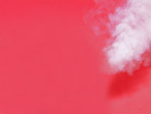 Steaming Red Background. Hot steam on a smooth fancy red background royalty free stock photo