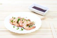 Steaming Shrimp Stock Images